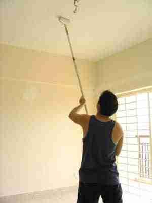 pintando techo