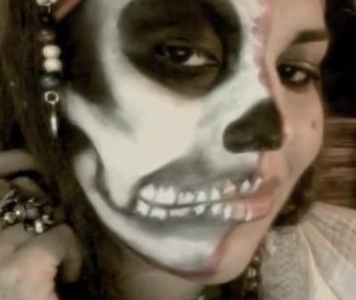Cómo maquillarte de pirata fantasma