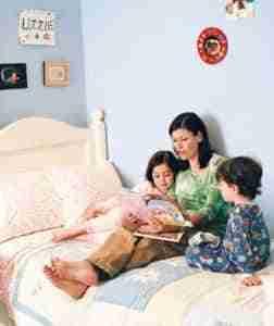 family reading 300