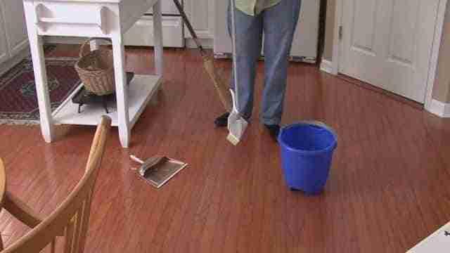 limpiar pisos madera