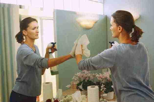 limpiar espejos