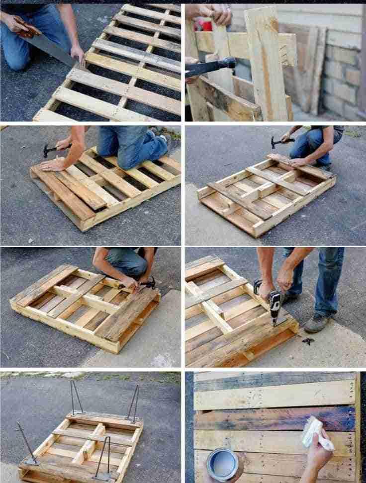 mesa de palé