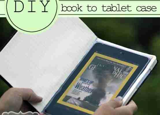 Cómo hacer una funda para tu tablet