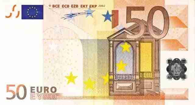 Billetes de euros falsos 3
