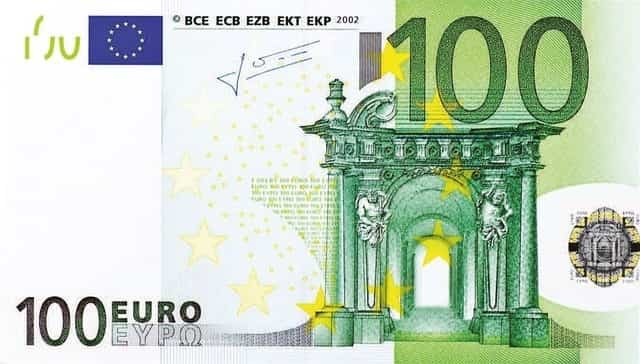 Billetes de euros falsos 4