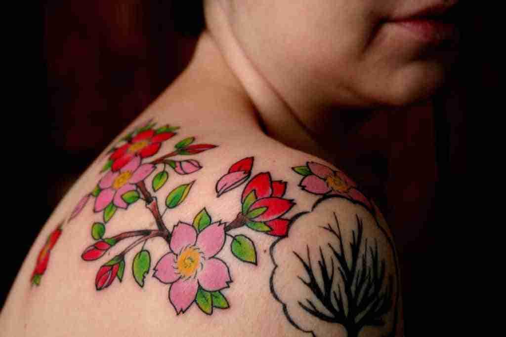 Consejos para escoger tu primer tatuaje - Tatuaje de flores